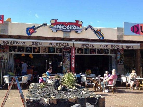 Retro picture of retro bar restaurant corralejo tripadvisor - Picture of bar ...