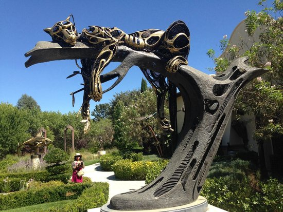 Sculpterra Winery & Sculpture Garden: Sweet Dreams