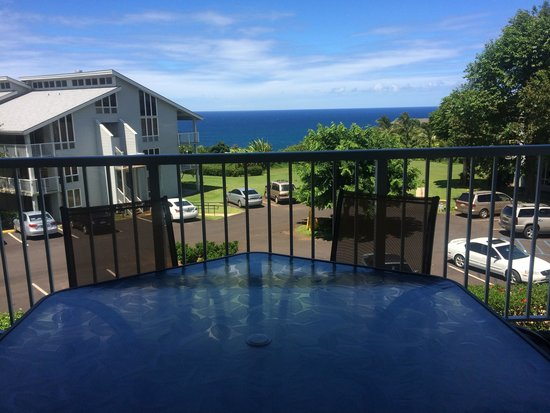 Cliffs at Princeville: View from Living Room Lanai