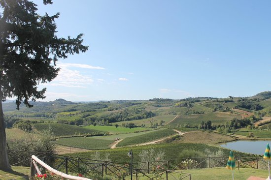 Chianti Wine Tour: View from San Gimignano