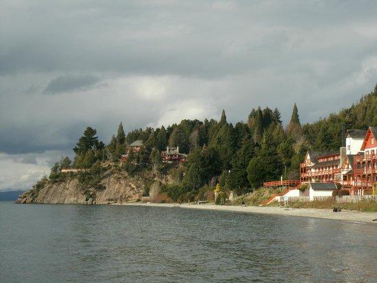 Charming Luxury Lodge & Private Spa: Vista do Hotel desde Playa Bonita