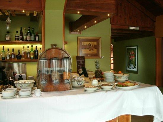 Charming Luxury Lodge & Private Spa: Café da Manhã