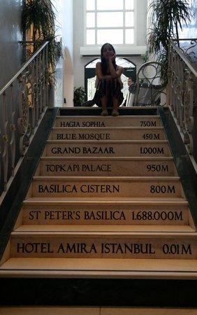 Hotel Amira Istanbul : Lobby