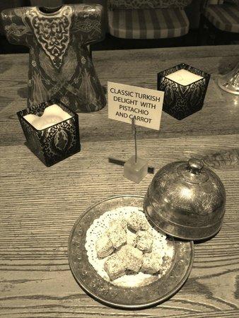 Hotel Amira Istanbul : Servicio de té por la tarde