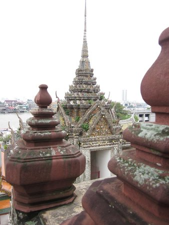 Templo del Amanecer (Wat Arun): View from the top
