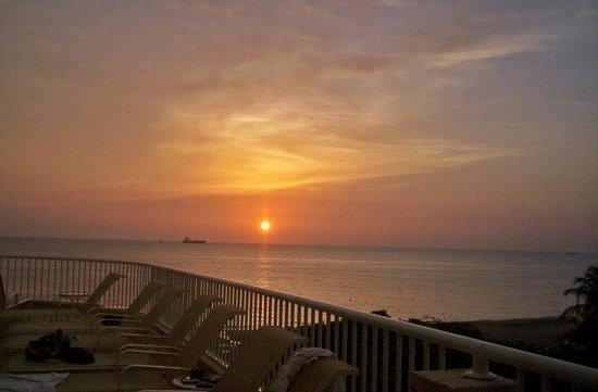 Irotama Resort: Hermoso atardecer