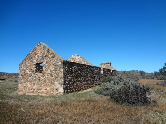 Flinders Ranges National Park, Australien: Kanyaka ruins