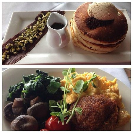 Restaurant Cuvee: Pancakes and the Bubbly Breakfast (minus the bacon)