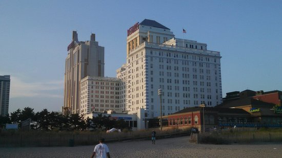 Resorts Casino Hotel: View from the beach
