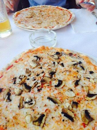 Bahia: Our pizzas