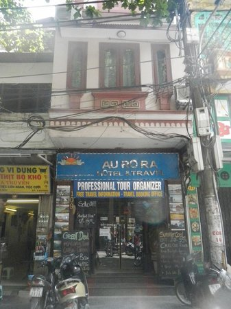 Hanoi Aurora Hotel: 外観