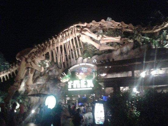 T rex restaurant picture of disney springs orlando for Restaurant t rex