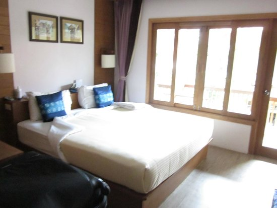 Vieng Mantra Hotel: Comfy bed