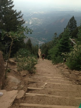Manitou Springs Incline: From the top