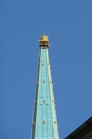 St. Martin's Cathedral (Dom svateho Martina): Die Turm-Krone