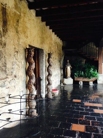 Hotel Museo Spa Casa Santo Domingo : Hallway