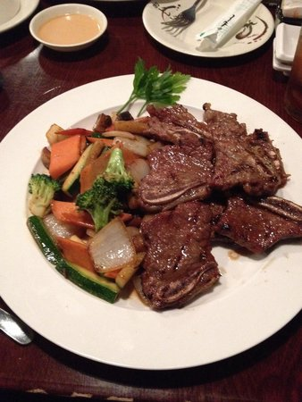 Roppongi Japanese Steak & Sushi: Angus Spare Ribs