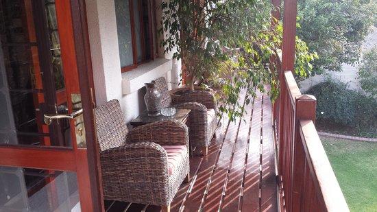 The Oasis Boutique Hotel: Garden Balcony