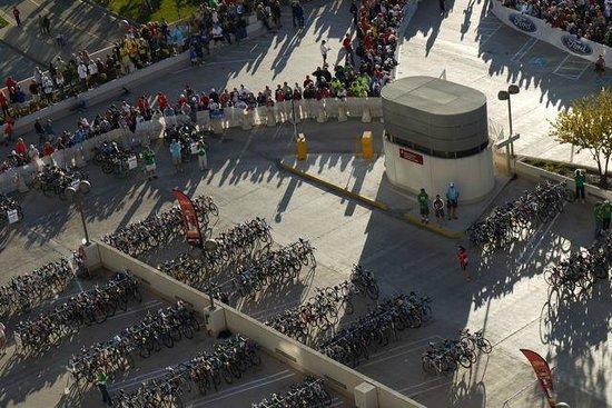 Hilton Madison Monona Terrace: Saturday after bike check-in
