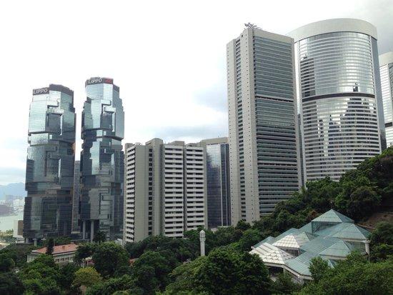 Hong Kong Park: Вид со смотровой площадки в парке