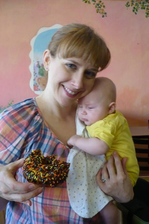 Charlie's Bakery and Cafe: Baby's first sprinkle donut