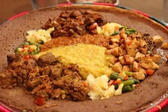 Uchenna: Food served family style