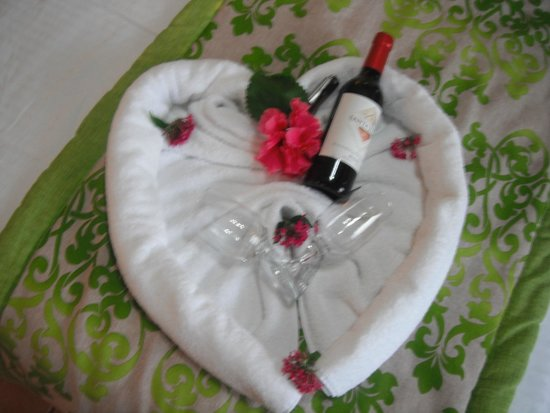 Arenal Springs Resort and Spa: welcome gift