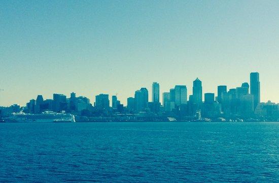 Renaissance Seattle Hotel: Seattle skyline!