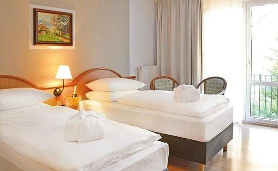 Berg- und Jagdhotel Gabelbach: Standard Zweibett-Zimmer - twin bed