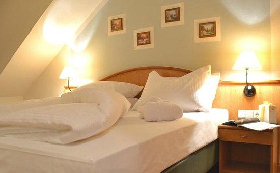 Berg- und Jagdhotel Gabelbach: Junior-Suite Schlafbereich