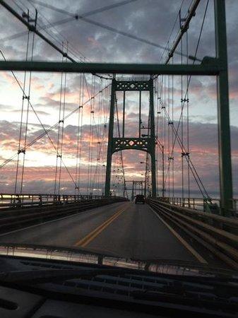Wellesley Island State Park : the bridge to Wellesley