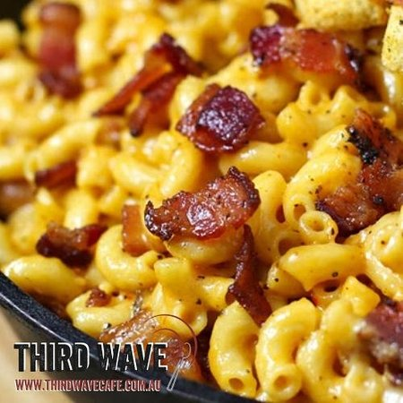 Third Wave Cafe: Smoked Mac and Cheese
