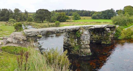 Postbridge United Kingdom  City pictures : ... Bridge, Postbridge, Devon, UK Picture of Clapper Bridge, Postbridge
