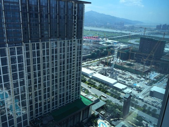 Sheraton Grand Macao Hotel, Cotai Central: View from the room