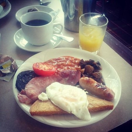 Royal Kings Arms: Breakfast of champions