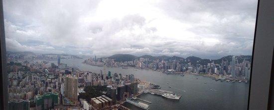 Sky100 Hong Kong Observation Deck: Sky100 SEP 2014