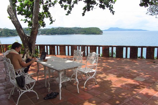Punta Del Este : terrace with a view - meals al fresco