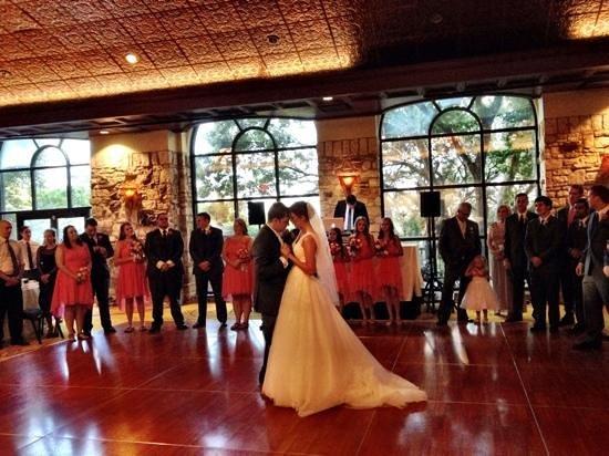 Renaissance Austin Hotel : Glass Oaks Room reception