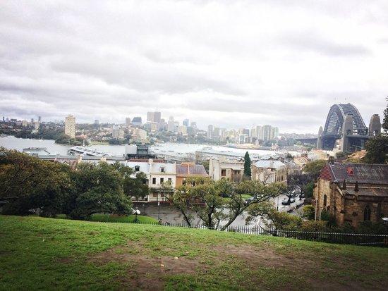 Observatory Hill: Raining
