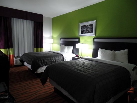 Quality Suites Fort Myers – I-75 : Nice Decor with vibrant colors