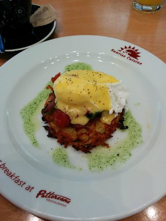 Commodore Airport Hotel, Christchurch: The yummiest breakfast