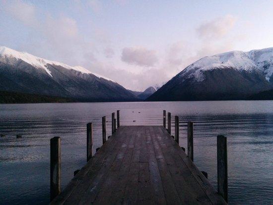 Nelson Lakes National Park : Lake Rotoiti Jetty