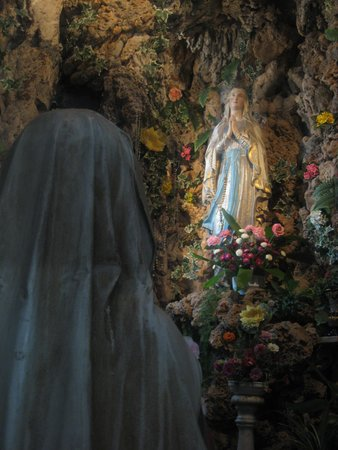 Church of St. Ignatius of Loyola: Lady of Lourdes Grotto