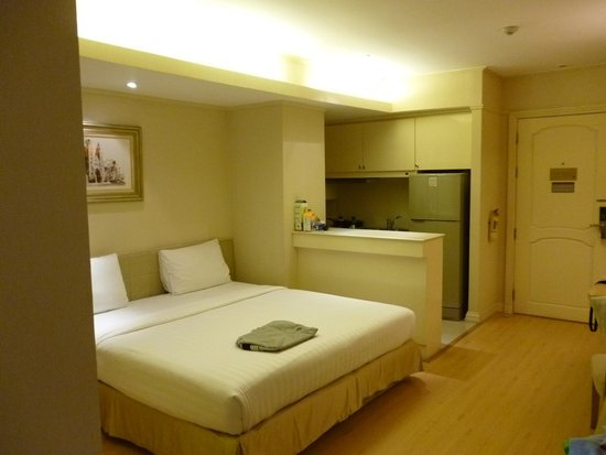 Hope Land Executive Serviced Apartment: 部屋