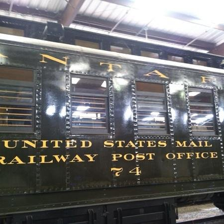 Pacific Southwest Railway Museum : rolling post office