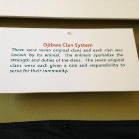 Ojibwa Clan Symbols Picture Of Museum Of Ojibwa Culture Saint