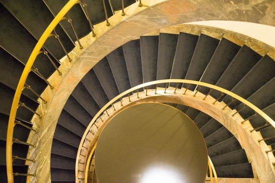 Hotel Elephant: 美しい螺旋階段