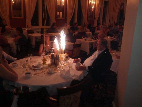Meikle Restaurant: Celebration at dinner