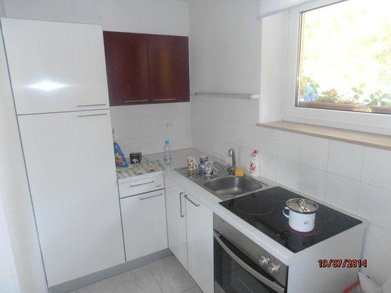 Apartments Lucija : Kitchen area