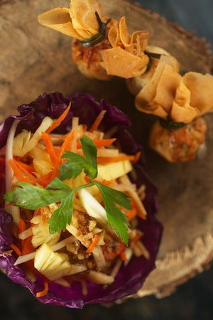Sanak Retreat Bali: Young Papaya Salad